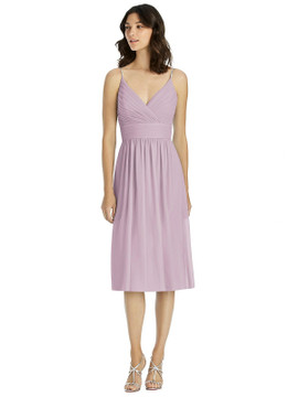 Jeweled Strap Draped Wrap Cocktail Dress By Jenny Packham JP1024 in 64 colors