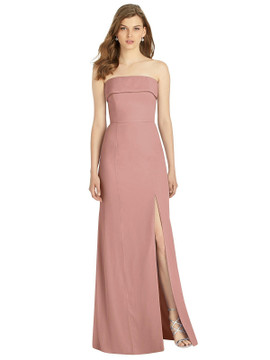 Bella Bridesmaids Dress BB124 in 64 colors in desert rose