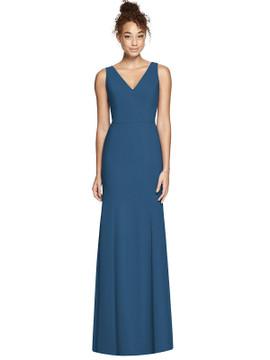 Bella Bridesmaids Dress BB116 in 33 colors dusty blue
