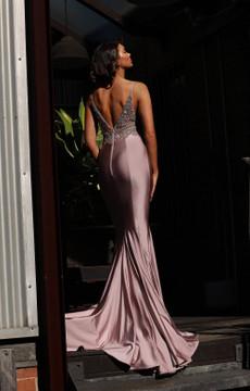 Josie Dress JX3027 by Jadore Evening in Ivory in size 4