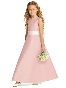 Dessy Flower Girl Dress FL4062 in 37 colours with Sash