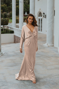 Nelson TO876 Bridesmaids Dress by Tania Olsen in Champagne