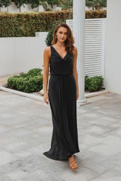 Novara TO871 Bridesmaids Dress by Tania Olsen in Black