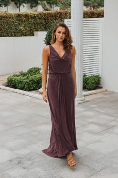 Novara TO871 Bridesmaids Dress by Tania Olsen in Tea Rose