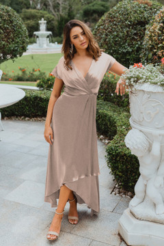 Napier TO868 Bridesmaids Dress by Tania Olsen in Champagne