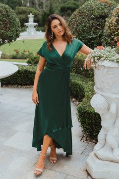 Napier TO868 Bridesmaids Dress by Tania Olsen in Emerald