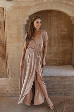 Chester TO866 Bridesmaids Dress by Tania Olsen in Champagne
