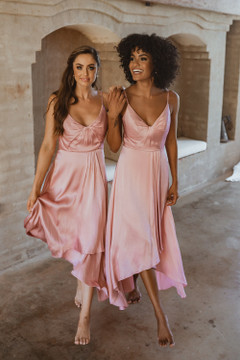 Kyoto TO869 Bridesmaids Dress by Tania Olsen in Rose