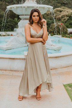 Kyoto TO869 Bridesmaids Dress by Tania Olsen in Champagne