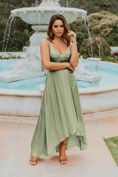 Kyoto TO869 Bridesmaids Dress by Tania Olsen in Sage