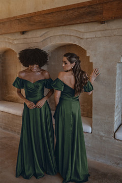 Lagos TO873 Bridesmaids Dress by Tania Olsen in Emerald