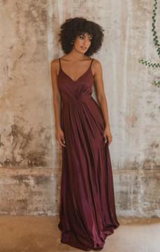 Yulara TO863 Bridesmaids Dress by Tania Olsen in Wine