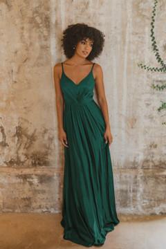 Yulara TO863 Bridesmaids Dress by Tania Olsen in Emerald