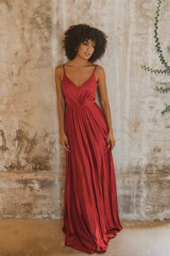Yulara TO863 Bridesmaids Dress by Tania Olsen in Paprika