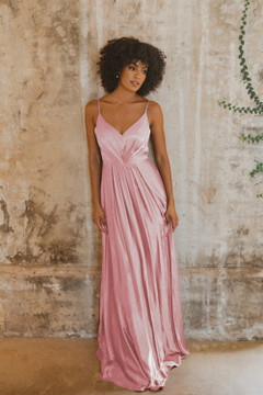 Yulara TO863 Bridesmaids Dress by Tania Olsen in Rose