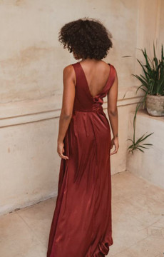 Athens TO862 Bridesmaids Dress by Tania Olsen in Wine
