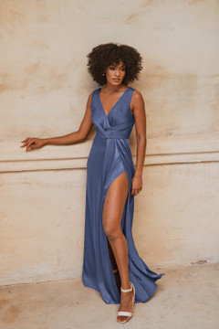 Athens TO862 Bridesmaids Dress by Tania Olsen in Dusty Blue