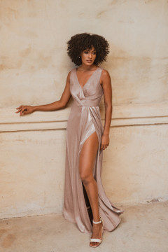 Athens TO862 Bridesmaids Dress by Tania Olsen in Champagne