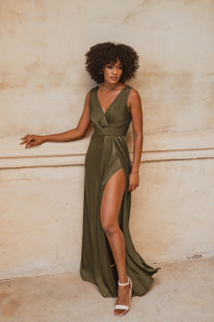 Athens TO862 Bridesmaids Dress by Tania Olsen in Olive