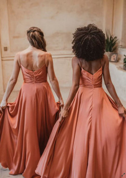 Suva TO875 Bridesmaids Dress by Tania Olsen in Terracotta