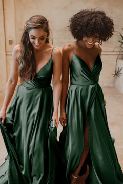 Suva TO875 Bridesmaids Dress by Tania Olsen in Emerald