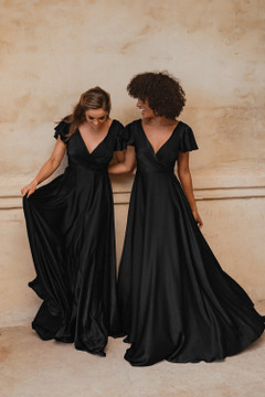 Auckland TO872 Bridesmaids Dress by Tania Olsen in Black