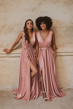 Napa TO861 Bridesmaids Dress by Tania Olsen in Rose