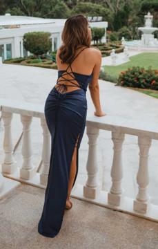 Dallas PO898 Evening Dress by Tania Olsen in Navy