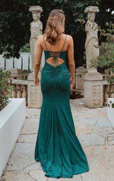 Shanghai PO907 Evening Dress by Tania Olsen in Emerald