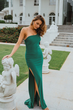 Beckley PO902 Evening Dress by Tania Olsen in Green