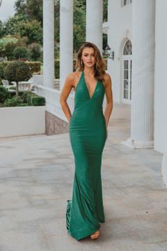 Genoa PO899 Evening Dress by Tania Olsen in Green