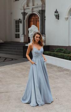 Monroe PO891 Evening Dress by Tania Olsen in Periwinkle