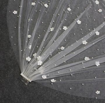 Pearl Flower Veil 3.5M