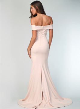 Gia Off the Shoulder Gown By Samantha Rose