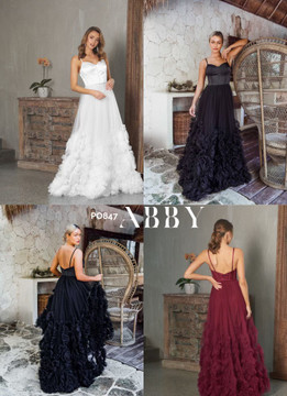 Abby Gown by Tania Olsen PO847 Soft Tulle Wedding / Evening  Dress