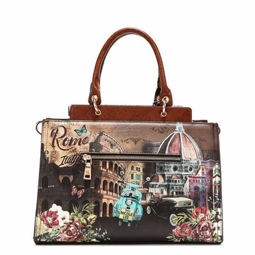 Nicole Lee MEMORY OF ROME STRUCTURED SATCHEL by Ameise