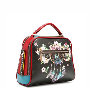 Nicole Lee DREAM OF ALL COLORS TOP HANDLE BAG by Ameise