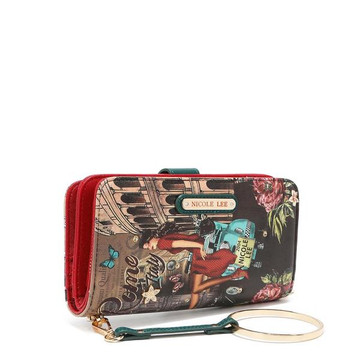 Nicole Lee NL Signature Bifold Wallet Wristlet by Ameise