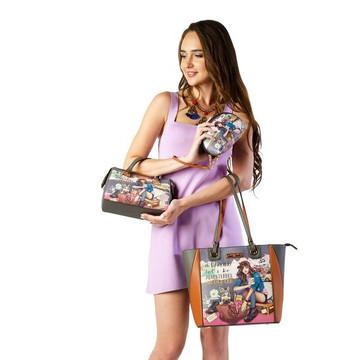 Nicole Lee Journey Of Stephanie 3 Piece Set by Ameise (Shopper, Mini Boston, Pouch)