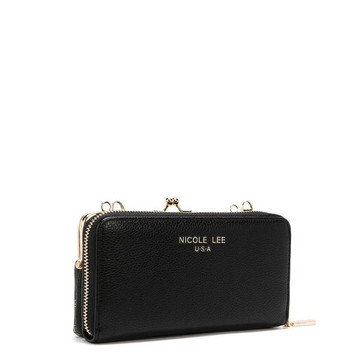 Nicole Lee NL Signature Kiss Lock Crossbody Wallet by Ameise