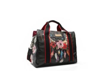 Nicole Lee Printed Duffle Bag by Ameise