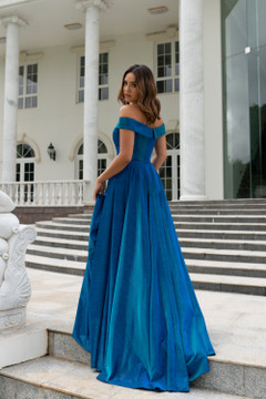 Beth A-Line Evening Dress by Tania Olsen Designs PO861S in Sparkle Satin
