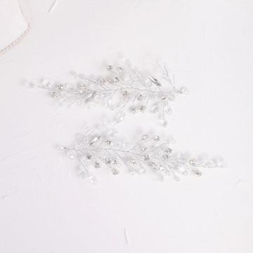 Silver Shine Crystal Rhinestone Headpieces (MITIARA7)