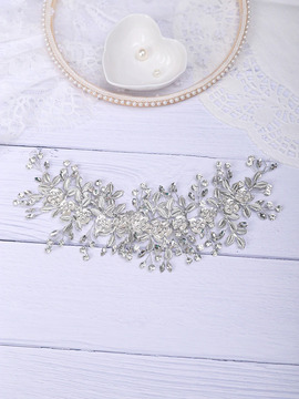 Tania Vintage Silver Wedding Hair Piece