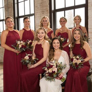 After Six Bridesmaid 6613 real wedding