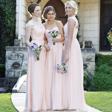 Chantelle Lace Bridesmaid Dress and TO34 willow