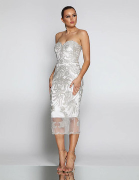 Joan Cocktail Dress (8069) by Jadore Evening