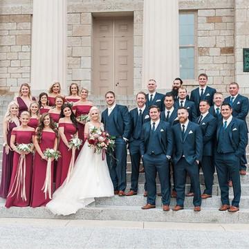 dessy 2987 real wedding