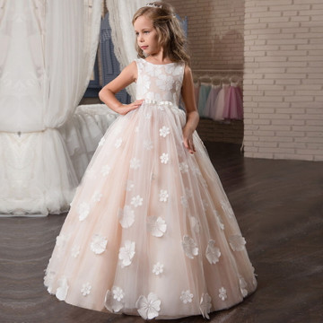 Summer Flower Girl Dress size 6-14