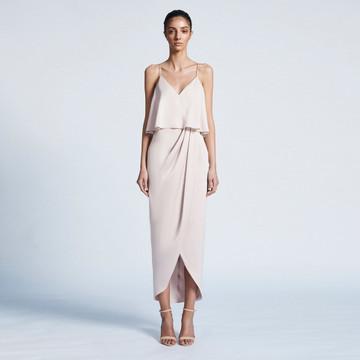 Shona Joy LUXE COCKTAIL FRILL DRESS